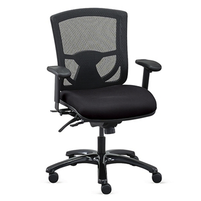 computer chairs overtime 24/7 mesh back chair with fabric seat , 57020 TLDEQEG