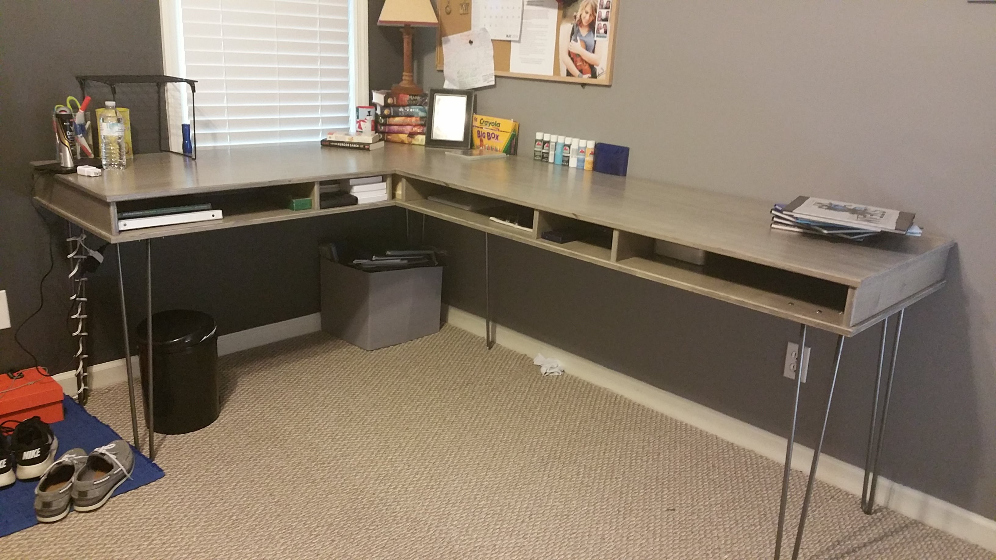 computer / study desk build (part 1) BFFGXQM