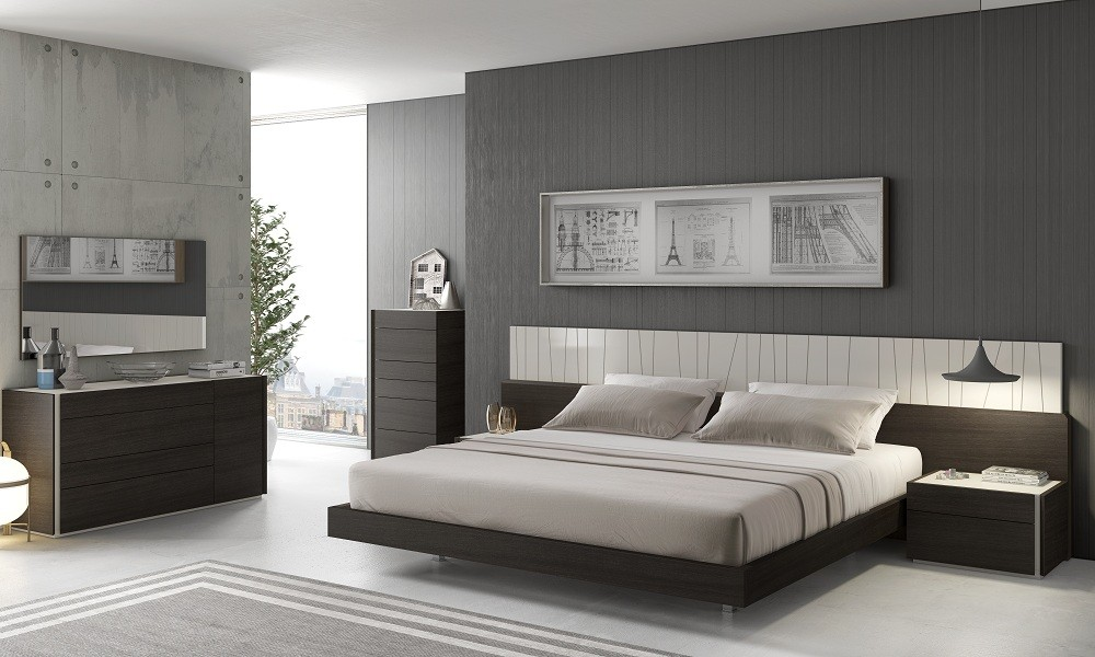 contemporary bedroom sets cado modern furniture - porto modern bedroom set ... KLJULZG