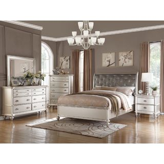 contemporary bedroom sets silver orchid olivia 5-piece bedroom set FOHVPVT