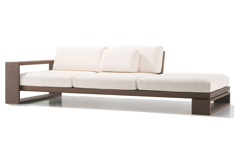 contemporary sofa enchanting contemporary wooden sofa modern and contemporary sofas loveseats  wood YBRJZTF