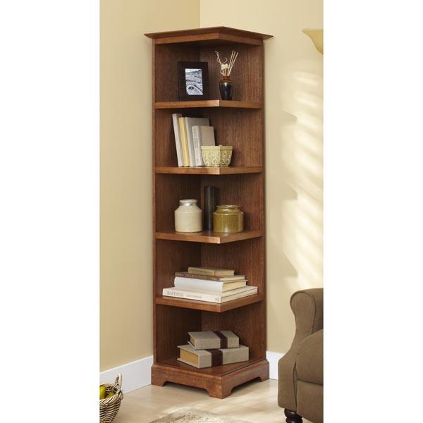 corner bookshelf corner bookcase ZVIYNQQ