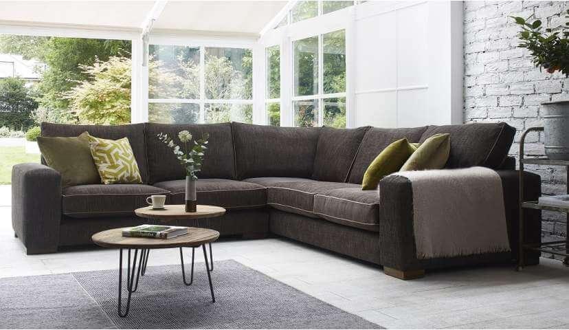 corner sofas ashdown medium corner sofa - super grand + medium unit in GKHCTXC