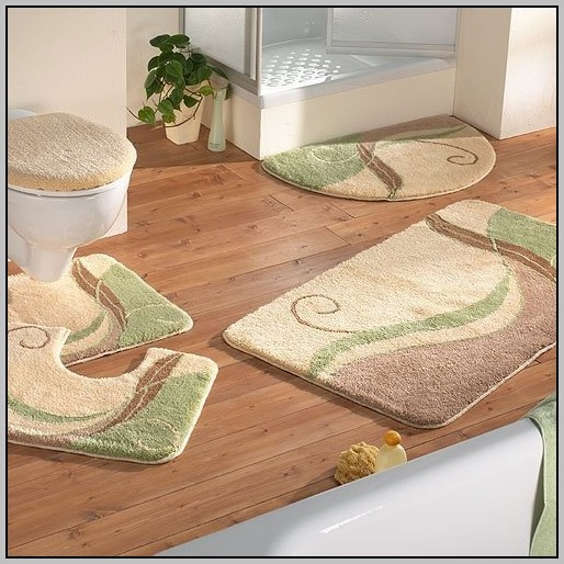 cotton bathroom rug sets KRFQTPU