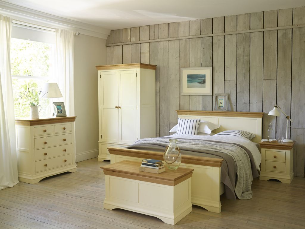 cream bedroom furniture country cottage : for simple, pretty bedroom styles. painted cream, solid VUUFHUJ