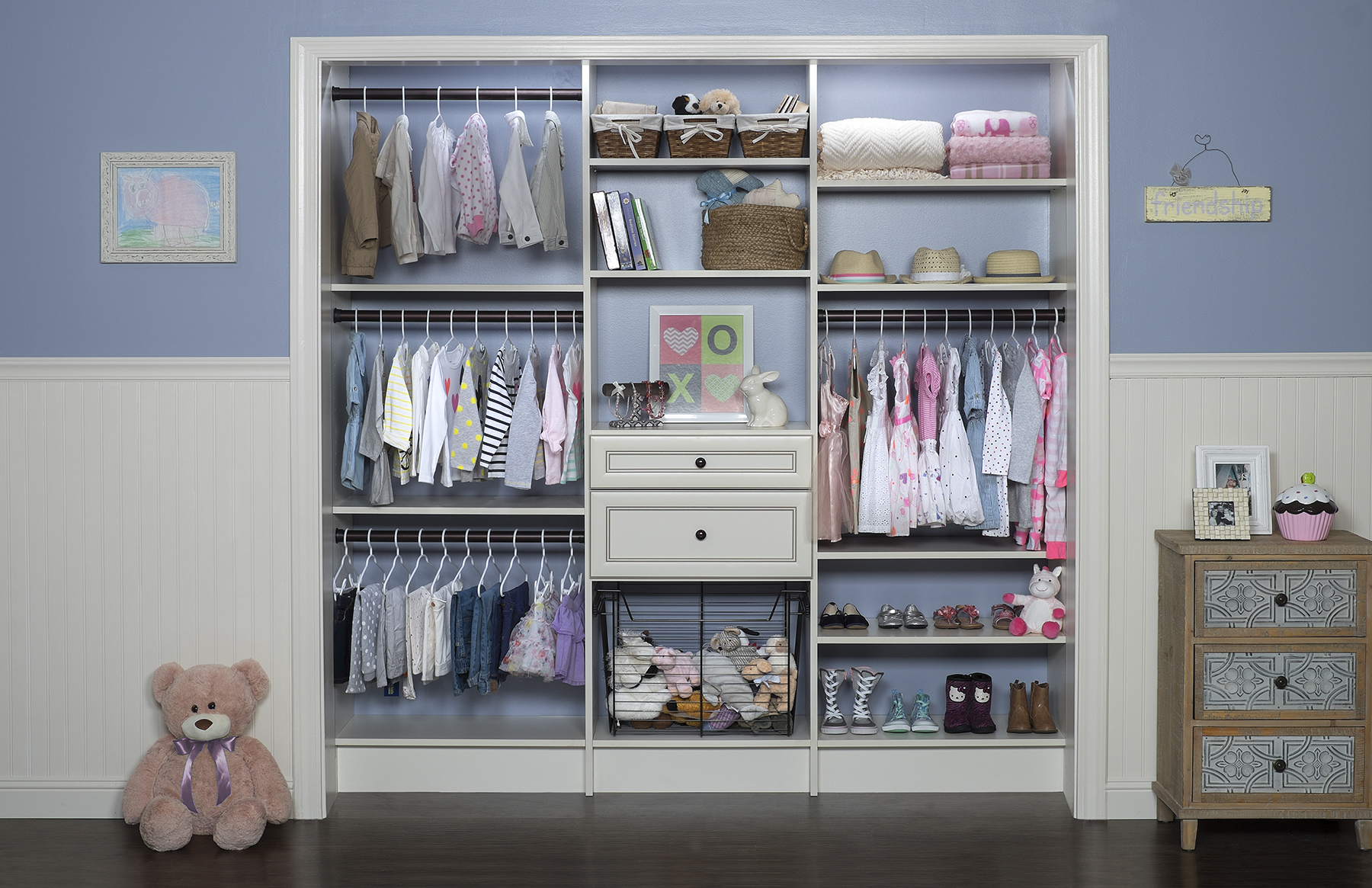 custom kids closet - baby in new jersey CCKAIRL