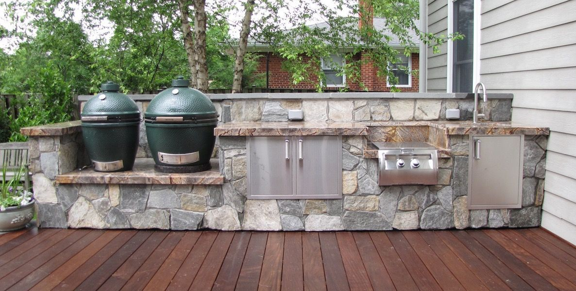 custom outdoor kitchens CLICFLR