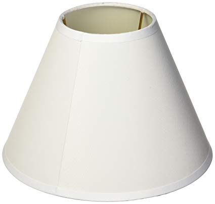 darice 5200-29, small lamp shade white fabric-covered CLZKBWR