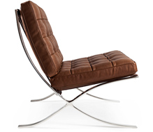 designer chairs bamberg barcelona chair from £1727.00 inc. vat KUQCCHW