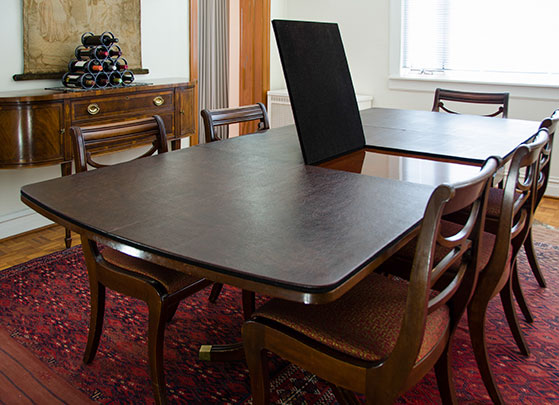 custom table pads for dining room tables | Keeping kids safe with dining room table pads ...