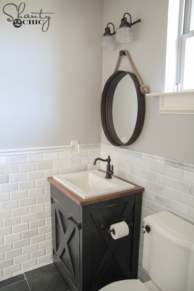dıy bathroom vanity shanty2chic diy bathroom vanity plans MCCZYPN