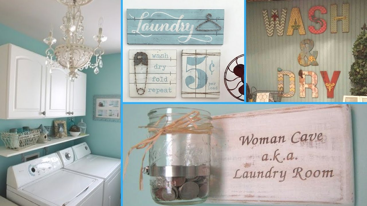 diy shabby chic style laundry room decor ideas ❤| home decor DZSPPRW