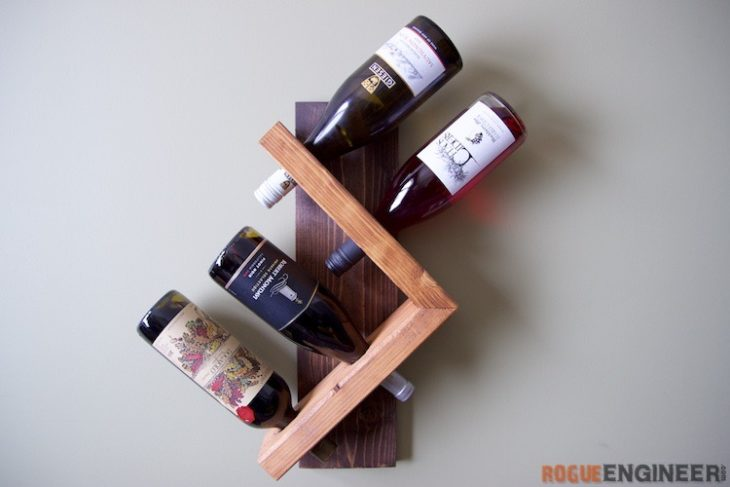 diy wine racks wall wine holder UEOKWIB