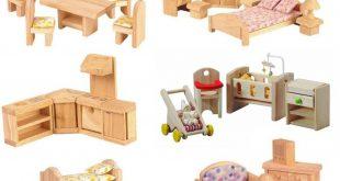 doll house furniture set 6 room dollhouse furniture set-elves u0026 angels GOCCLOR