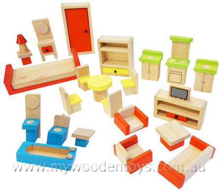 doll house furniture set dolls house furniture wooden wooden dolls house furniture set at my BVLVUSP