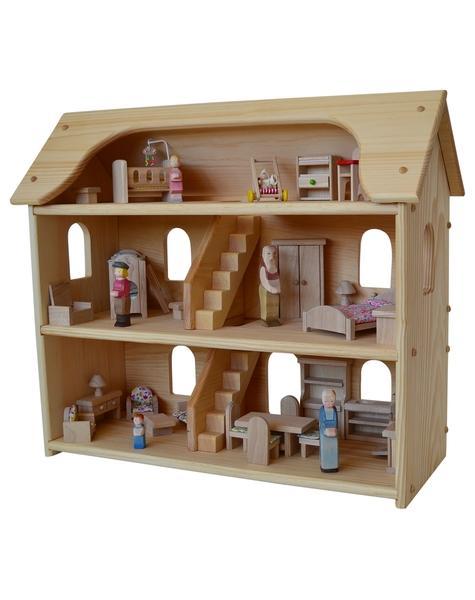 doll house furniture set seriu0027s dollhouse set-elves u0026 angels HLCRXPA
