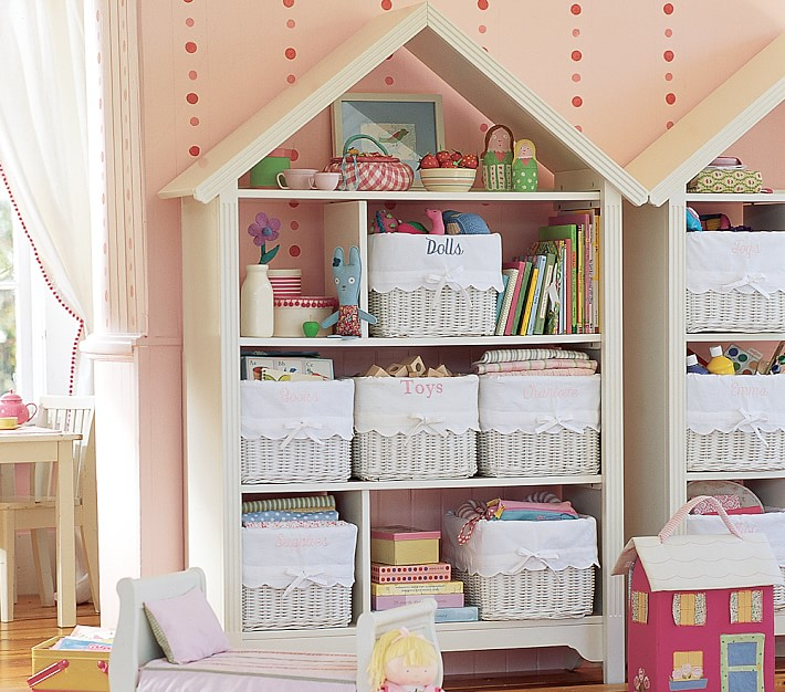 dollhouse bookcase ideas petaluma large dollhouse bookcase | pottery barn kids FMPZPVP
