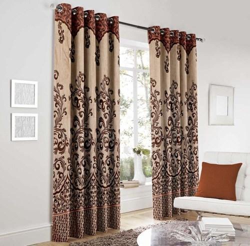 door curtains heavy jute designer panel door curtain SWCBWGA