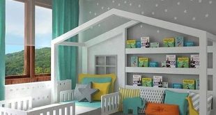 dream kids bedroom: ideas to enhance: guard rails removable, drawers under JSIDDRO