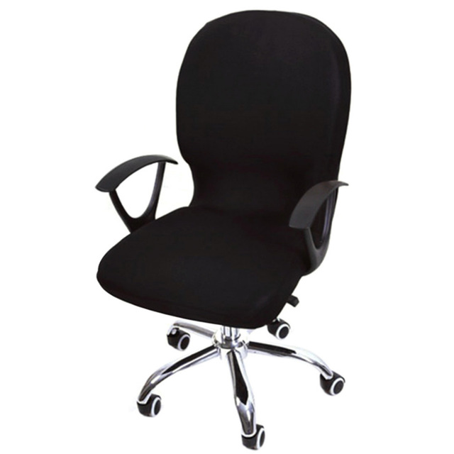 elastic spandex office chair cover seat covers for computer chairs stretch MRGAMVV