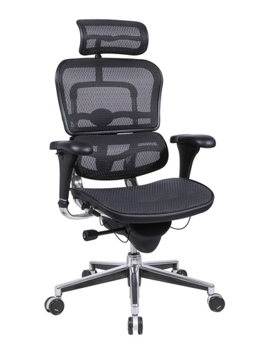 ergonomic office chairs eurotech me7erg ergohuman mesh ergonomic chair w/ headrest. view office MGMPXXD