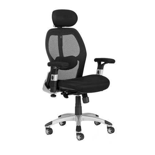 ergonomic office chairs milan direct deluxe mesh ergonomic office chair with headrest OXMDVCF