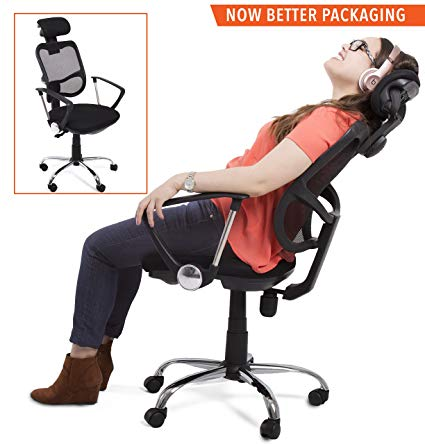 ergonomic office chairs stand steady proergo ergonomic office chair - supports over 300 lbs. PBESDRK