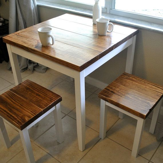 farmhouse breakfast table or small dining table set with or without QRBGFXS
