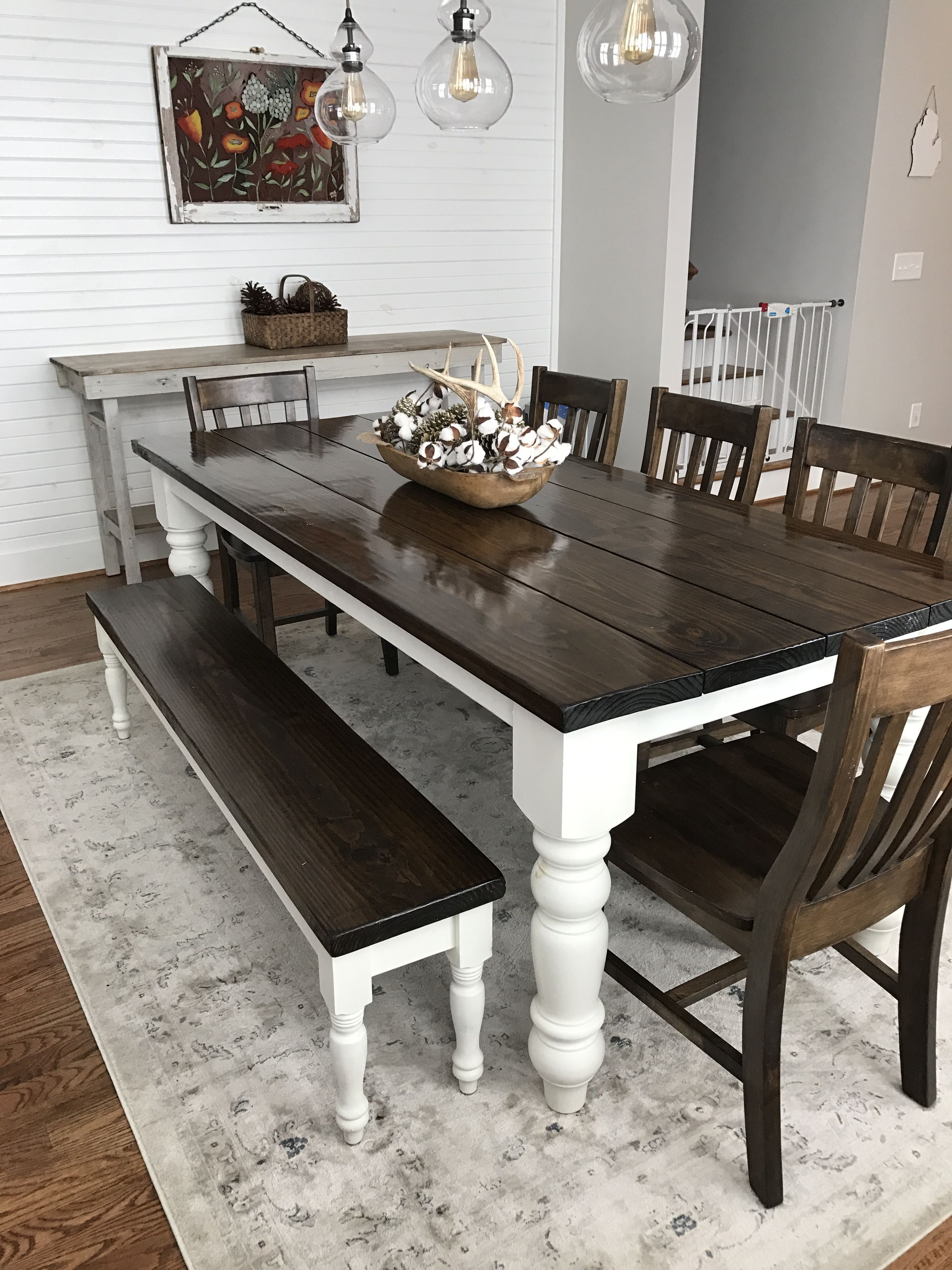 farmhouse dining table custom built, solid wood modern farmhouse dining furniture. 7u0027 l x UMNVPHA