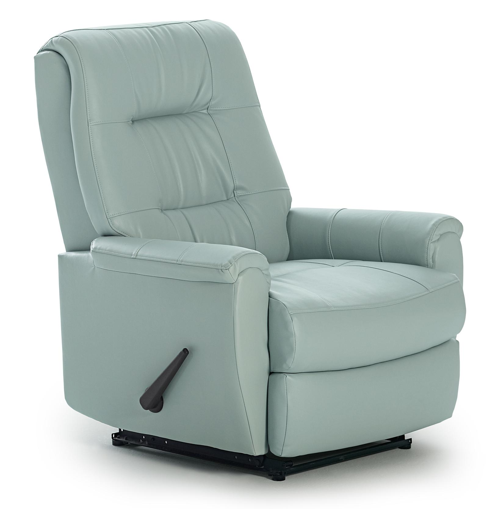 felicia swivel rocker recliner with button-tufted back BPAZQRW