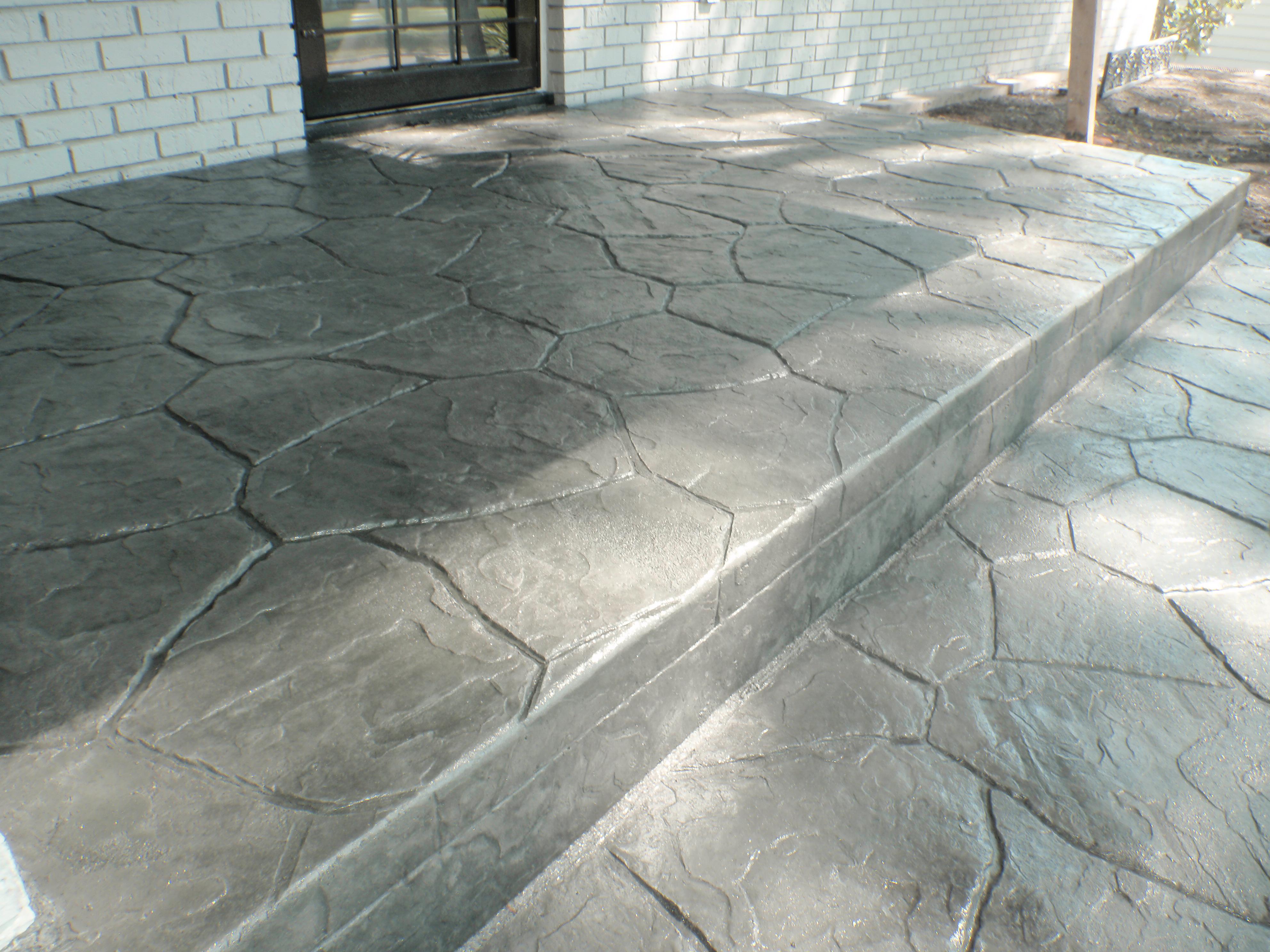 fieldstone stamped concrete XXPFVDS