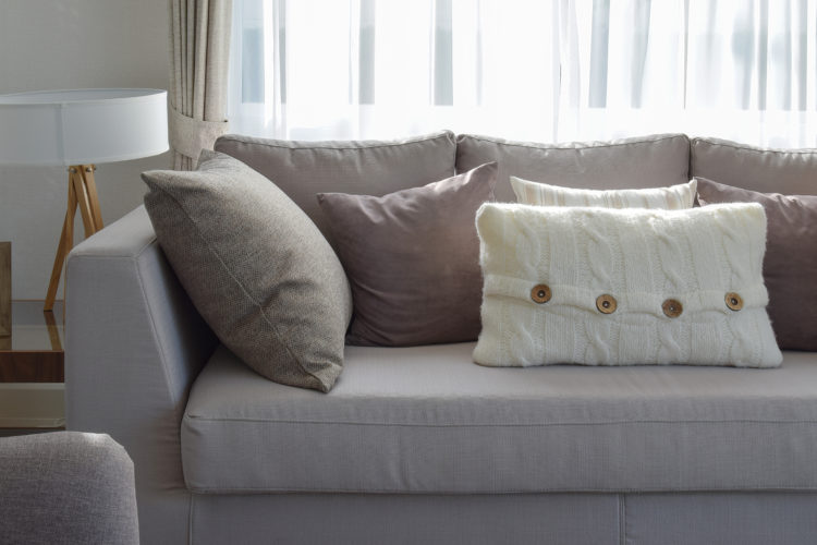 firm up frumpy sofa cushions with this trick XZLZOSI