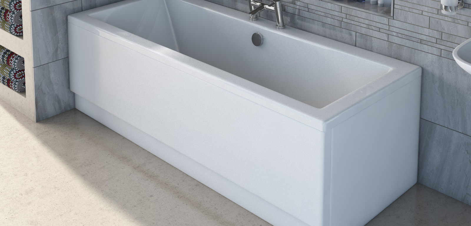 fitting bathroom panels plain bathroom fit and floor how to an acrylic bath panel EAGCSXQ