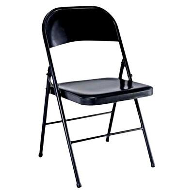 folding chair black - plastic dev group® MADNPIW