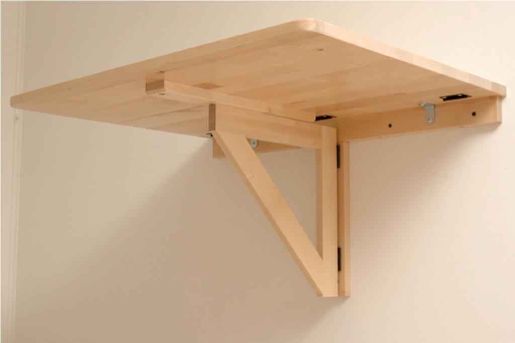 Folding Wall Table Ealing Diy Mounted Contemporary Best Jplmjin
