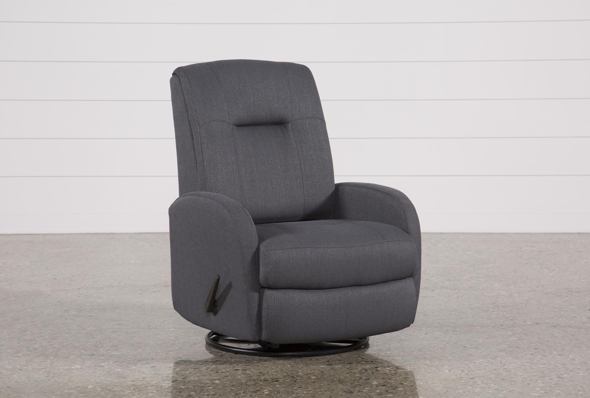 franco iii fabric swivel rocker recliner - 360 ITWYIEP