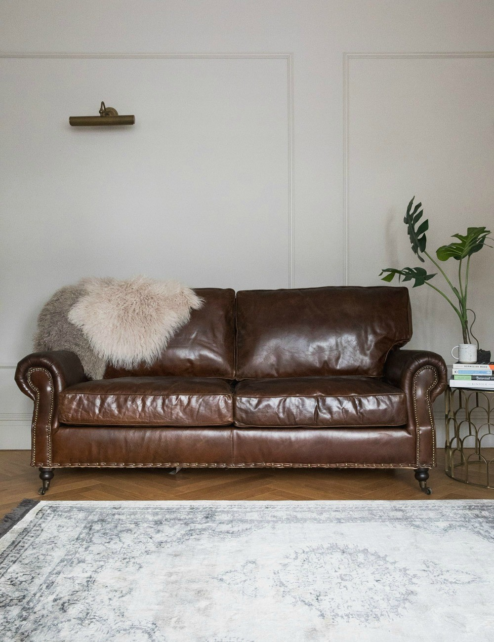 fresh vintage leather sofa 20 about remodel sofa table ideas with DOINIMX