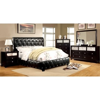 full bedroom sets silver orchid brenon black 4-piece bluetooth bedroom set OMKISZF
