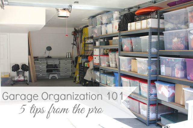 garage organization 101 - 5 tips to getting that garage in WWJGNGK