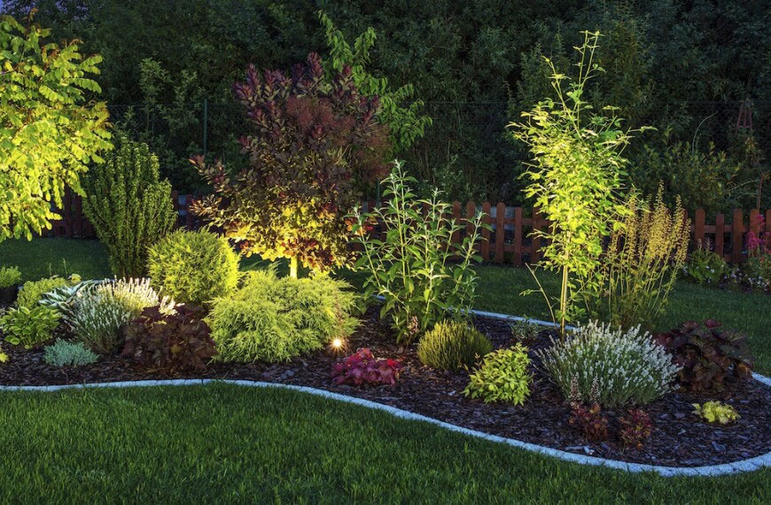garden lighting gardening how-to local gardener MUOBVJB