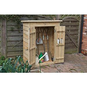 garden storage forest garden pent pressure treated garden store - 3 x 2 VMFJQPS