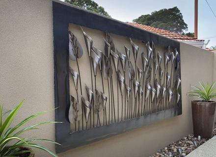 garden wall art trendy idea outdoor wall art modern house large metal garden delectable SDTTMPN