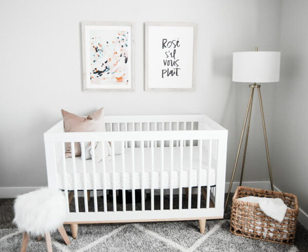 girl nursery ideas baby girl room idea - shutterfly EJUQGYB