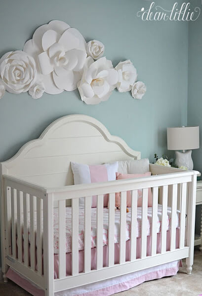 girl nursery ideas baby girl room idea - shutterfly GDQUKMC