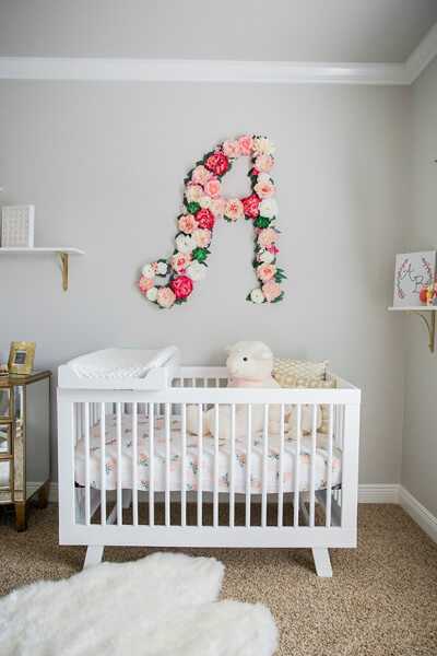 girl nursery ideas baby girl room idea - shutterfly XZOVYCC