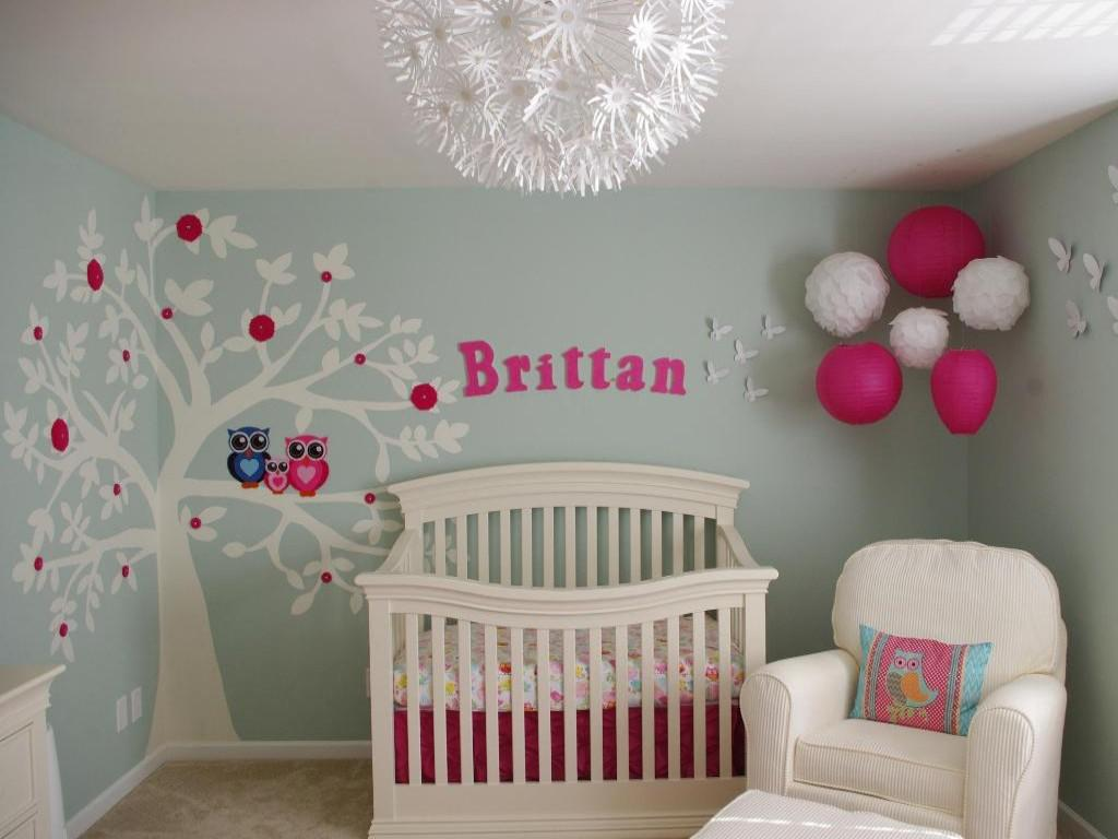 girl nursery ideas nursery ideas for girls to embellish the place - designinyou NUZDPKF