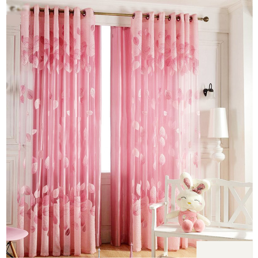 girls curtains curtains for girls room romantic pink sheer curtains cheap for girls VYXOINF