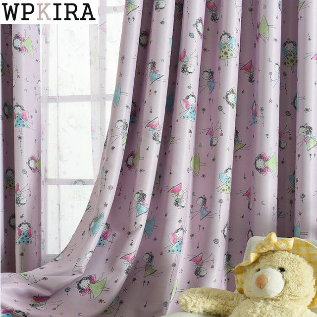 girls curtains cute blackout curtains for living room bedroom children girls cartoon BFFAEYP