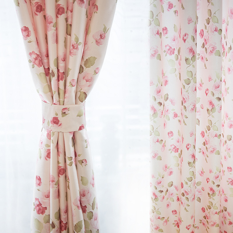 girls curtains girls beautiful curtains in romantic flower patterns SCSEIPT