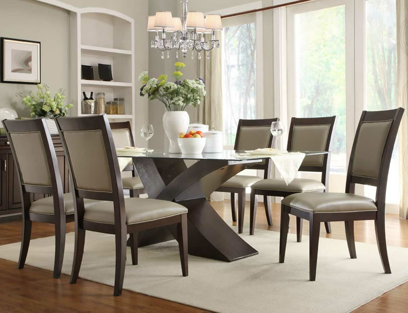glass dining room table set simple with images of glass dining MAAAGHI